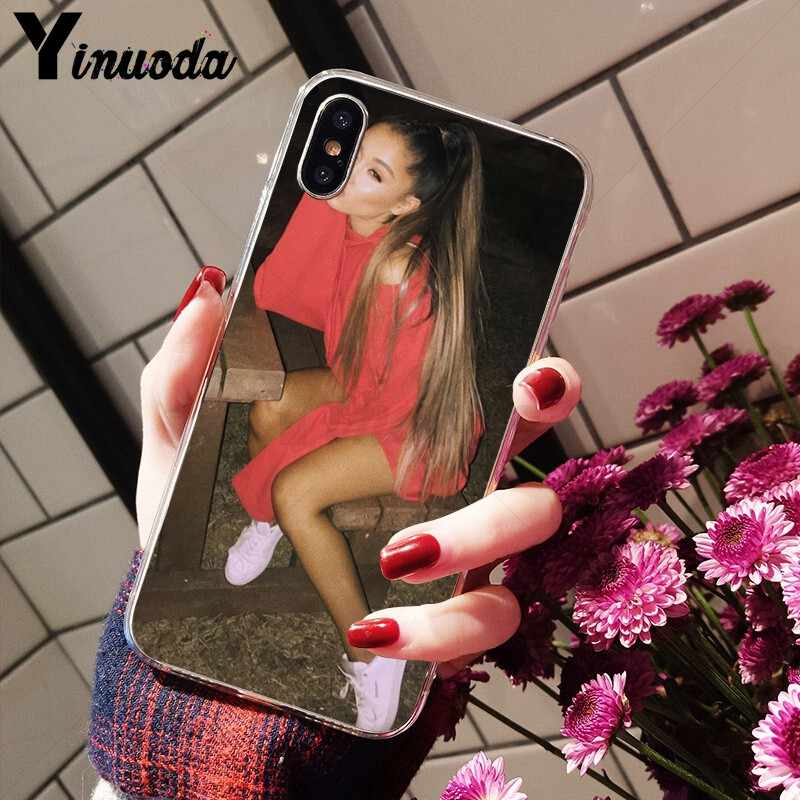 Yinuoda Ariana Grande AG Rainbow สารให้ความหวาน DIY Luxury High-end Protector สำหรับ iPhone 5 5Sx 6 7 7plus 8 8Plus X XS MAX XR