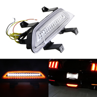 3 in 1 Multi Function Led Rear Fog/Brake/Reversing Lights Lamp For Ford Mustang Coupe Convertible 2015 Up High Power Led Lamp