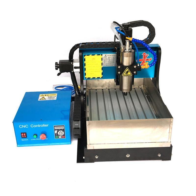 JFT High Precision 600W CNC Router with Water Tank 4 Axis CNC Router with Parallel Port Low Price Engraving Machine 3040  jft new arrival high speed 4 axis 800w affordable cnc router with usb port precision drilling machine for woodworking 6090