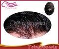 100% евро сенсорный индийский реми hairThin за кожей v-петли узла фондовые мужчины парик бесплатная доставка