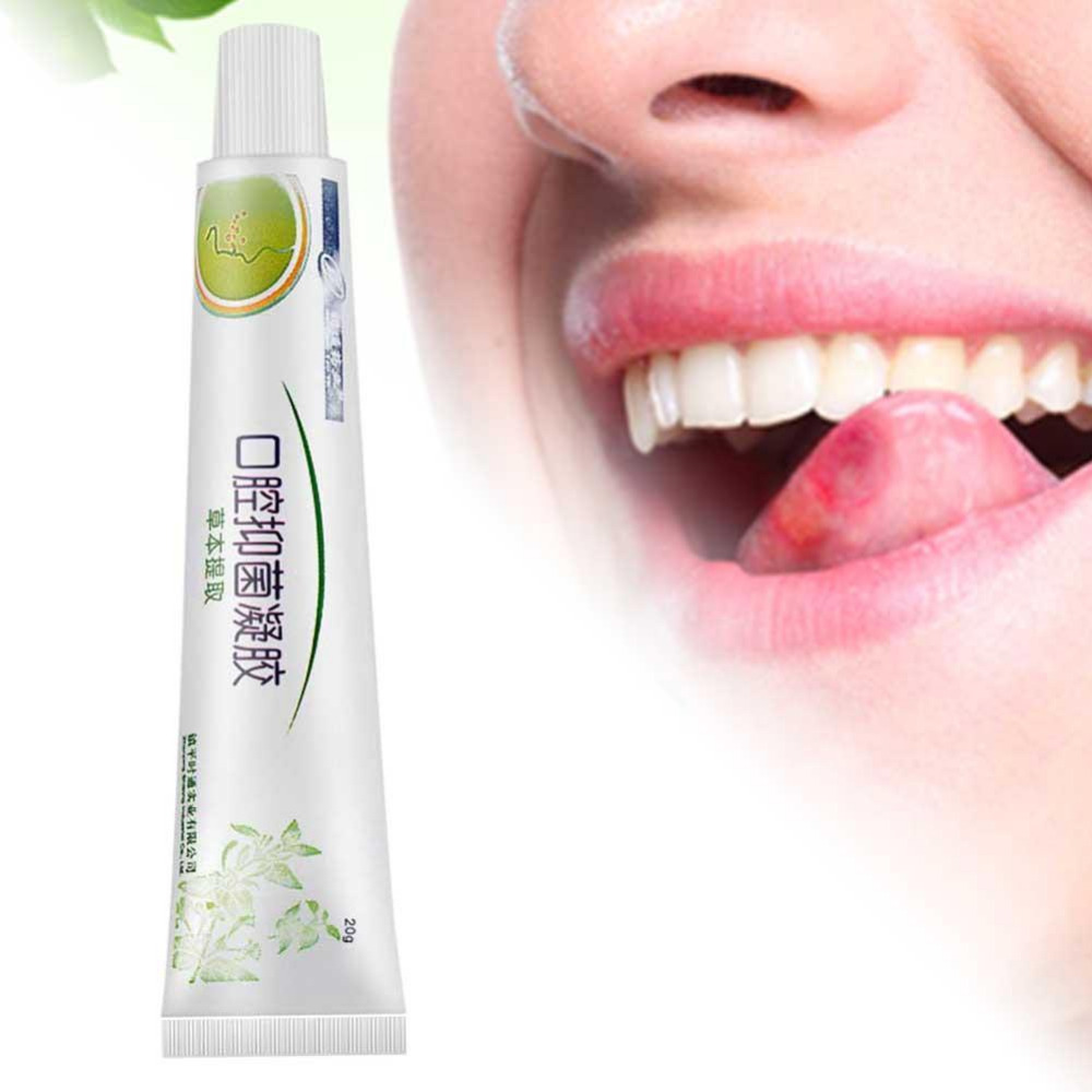 Mouth Ulcer Relief Gel Natural Herbal Oral Antibacterial Cream Fast Relief From Severe Pain Irritation Care Tool