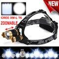 Super Bright LED Headlight Flashlight Torch 3x XM-L T6 Headlamp Head Light Lamp l7117