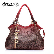 Marke luxus designer frauen handtaschen weibliche PU leder aushöhlen quaste taschen damen messegner schulter tasche bolsa feminina LH33