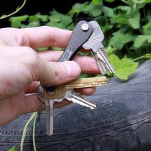 Оксид ключевой ключи edc папку алюминиевый подарки жесткий организатор брелок клип