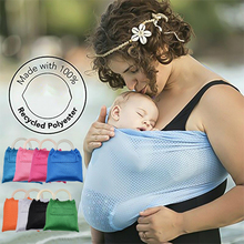 Baby Sling Carrier Breathable Baby Ring Beach Water Sling Summer Wrap Quick Dry Pool Shower Backpack Baby Gear Pool Wrap Swing