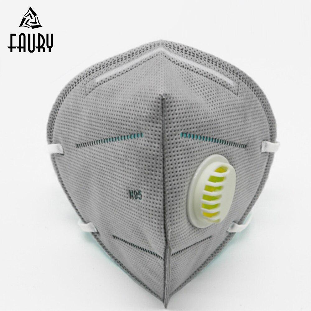 La Boca Anti Polvo Máscaras Desechables De Filtro De Carbono Activado A Prueba De Viento Pm2.5 Boca Mufla Bacterias Prueba Gripe Máscaras De Las Mujeres De Los Hombres