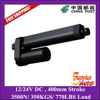 Free Shipping High Quality 400mm Stroke 3500N 350KGS 770LBS Heavy Load Max 10mm S Speed 12V