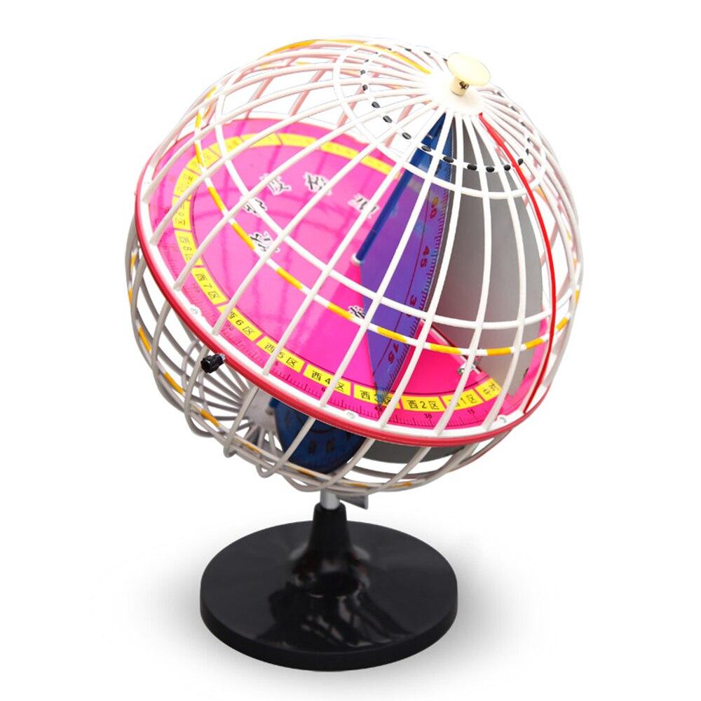 Planétarium étudiant ensemble longitude latitude terre modèle enseigner éducation géographie carte populaire science astronomie démo