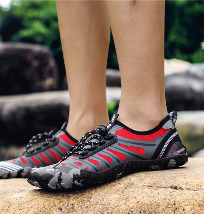 Unisex Swimming shoes Water Shoes Bicycle Seaside Beach Surfing Slippers Skiing Outdoor Five Finger Soft Fitness Light Shoes (15)