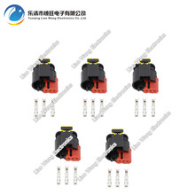 цена на 5 PCS 3 Pin DJ7031C-1.5-21 Waterproof Automotive Wire Connector Sealed Sensor Fuel/Diesel Injector Ignition coil Connector