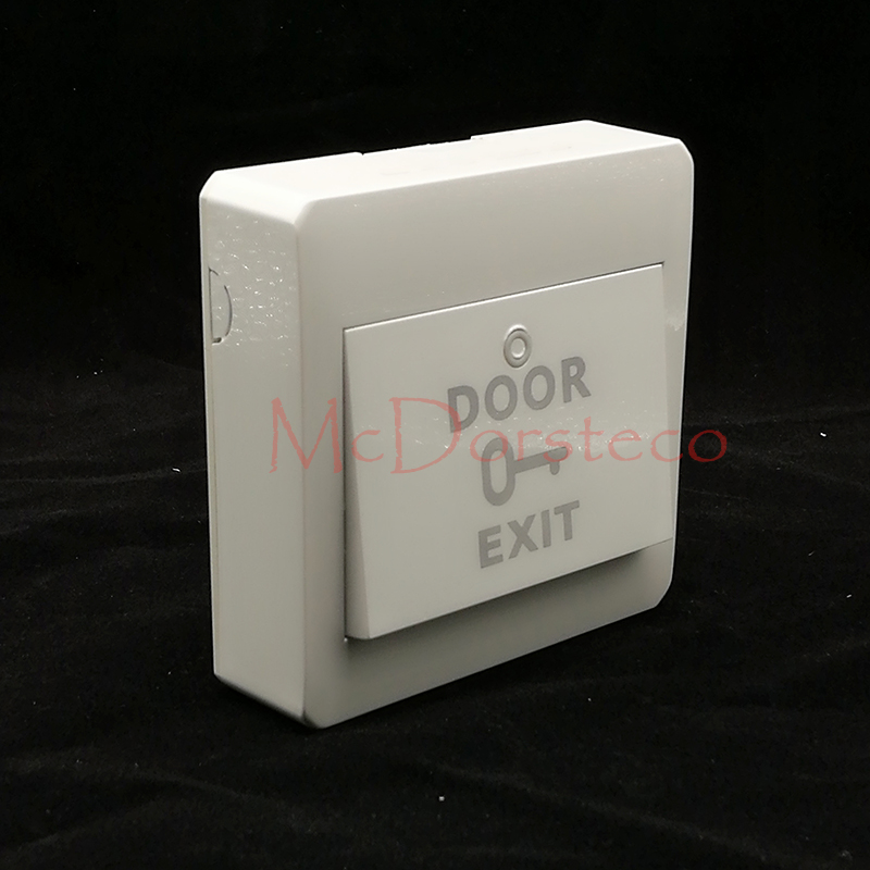 Aliexpress Com Buy 10 Pcs No Com Exit Button Wall Mount