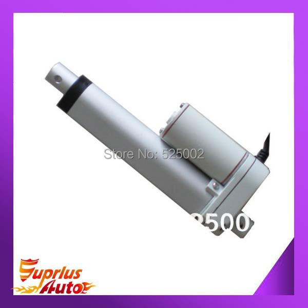 Complete set 12V 1/25mm stroke length , load capacity of 900N mini linear actuator with wireless control system