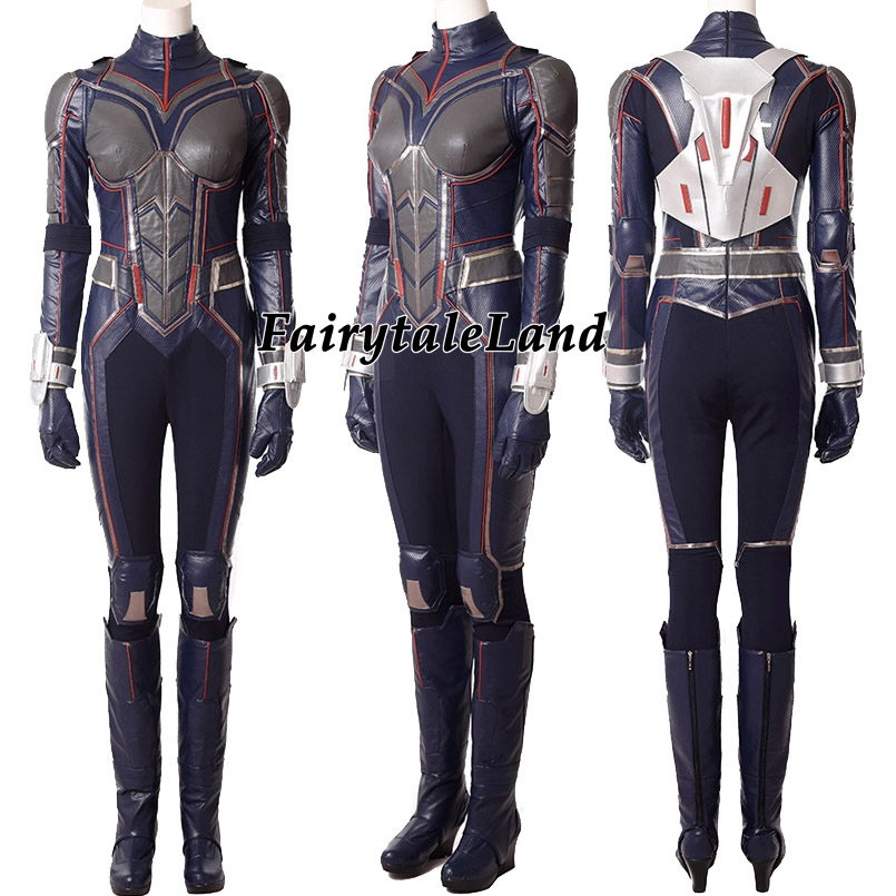 Ant-Man and the Wasp Cosplay Costume Halloween Costumes Superhero Ant-man 2 the Wasp costume jumpsuit custom made