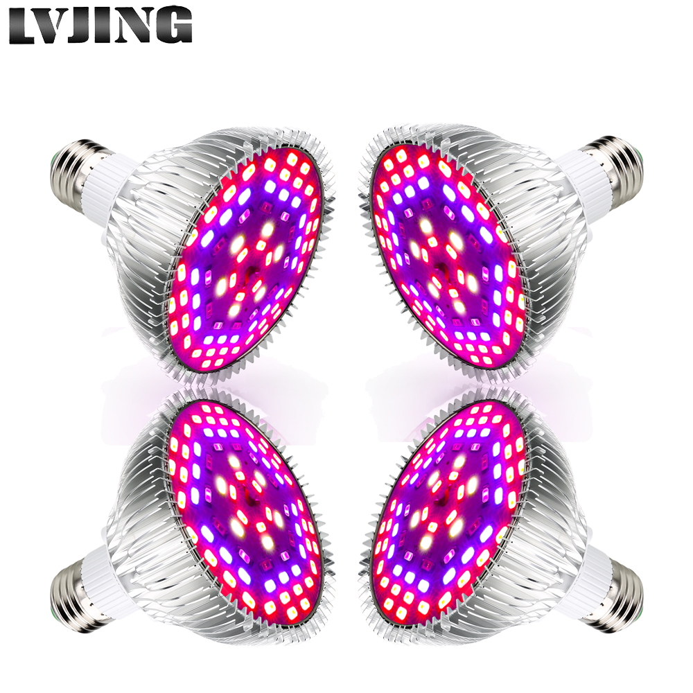 8pcs 4 Pcs 2pcs 1pcs 50W Phyto LEDs Light Full Spectrum Led Lamp For Greenhouse Indoor Cultivation Plants Flower Growth Tent