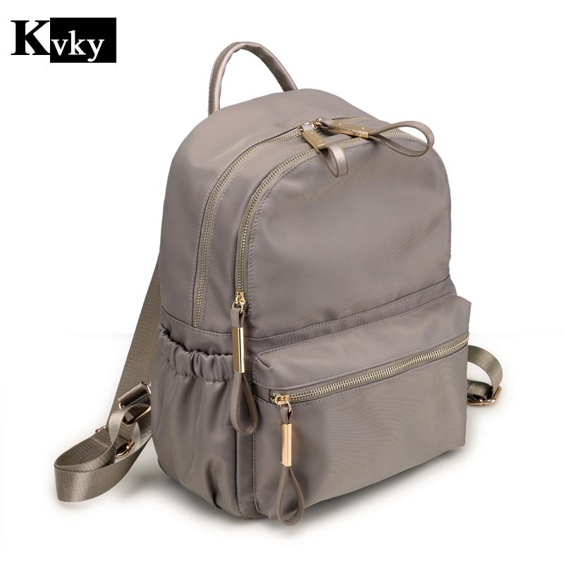 Women Nylon Backpacks for Teenage Girls Youth Daypacks Mochila Feminina SchoolBag College Student Backpack High Quality