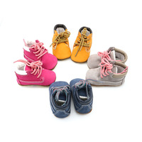 Winter Baby Snow Boots Cowhide Soft Bottom Mixed Colors Girls Shoes Warm Plush Baby Boys Boots 0 24M