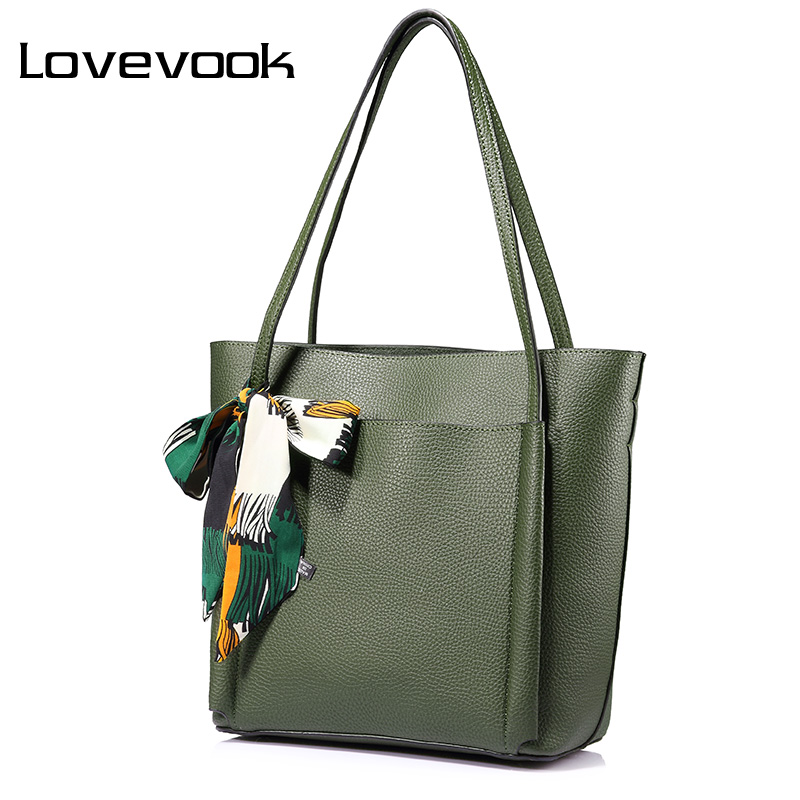 LOVEVOOK fashion women shoulder bag handbag large capacity ladies casual tote bags high quality with bow and ribbons платье dorothy perkins dorothy perkins do005ewzvf65
