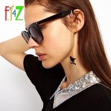 F.J4U 2017 Fashion Novel Black Coated Alloy Birds Sunglasses Chain for Women Trendy Personality Eyewear Lanyard Holder Straps