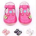 Primavera verano niñas bebés primer caminante zapatos de vestir zapatos de la mariposa del niño niños suela de goma zapatos infantil Mary Jane del bebé del mocasín