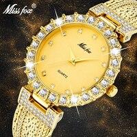 Vrouwen Horloges Luxe Merk Horloge Armband Waterdicht Dropshipping 2019 Diamant Dames Horloges Voor Vrouwen Quartz Klok Uur