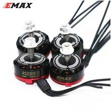 4 takım/grup EMAX RS2205S 2300KV/2600KV yarış Edition fırçasız Motor 3 4S DIY mini drone için QAVR250 quadcopter