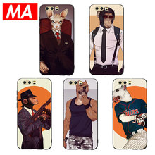 MA Man-Ape Half orc image Phone Case For Huawei P20 P10 P9 Lite Pro Cases Ultra-thin TPU Cover For Honor 8 9 10 Lite Mate 10 20