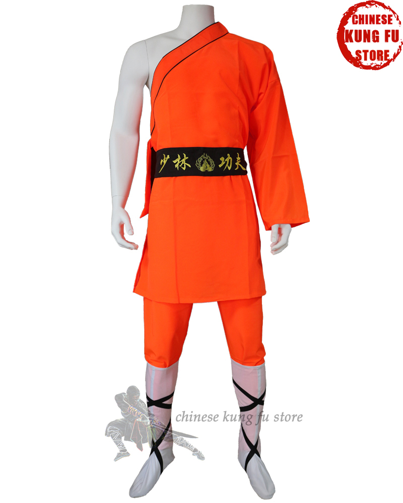 Popular One-sleeve Shaolin Monk Uniform Kung Fu Performance Costumes Martial Arts Suit Wing Chun Tai Chi Clothing