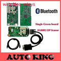 Latest 5.008R2 Keygen TCS CDP Single Green Board CDP Scanner Bluetooth+NEC Relays+Multi-language for Cars Trucks Diagnostic To
