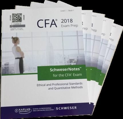 2018CFA Nível 1 Schweser Notas de Estudo Fórmula Lista