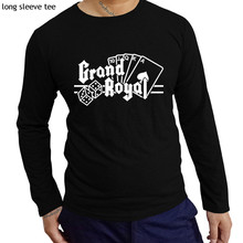 a91a8961 new arrived Grand Royal Records men T-Shirt 100% Cotton Beastie Boys Hip Hop