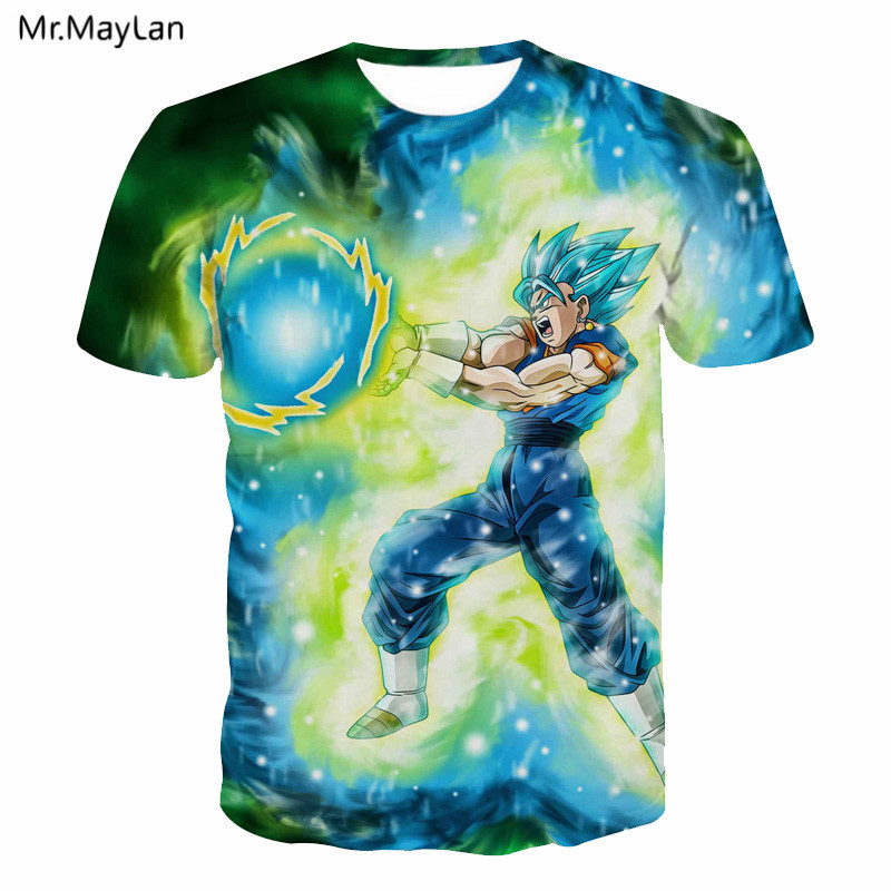 3D T-shirt Print Dragon Ball Z Goku Ultra Instinct Men Women Casual Anime DBZ T Shirt Te ...