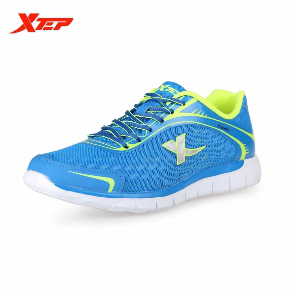 ФОТО XTEP Original Men Light Mesh Running Shoes Athletic Trainers Run Shoes Breathable Outdoor Sports Sneakers 985219119725