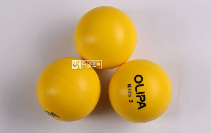 3pcs/set Beginner Sponge Soft Safety Tennis Ball For Kids Child Children Young Men Women Safe Tennis Balls