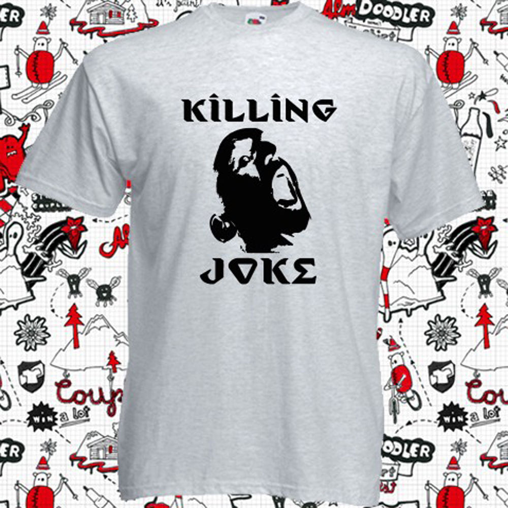 New Killing Joke Heavy Metal Rock Band Mens Grey T-Shirt Size S to 3XL