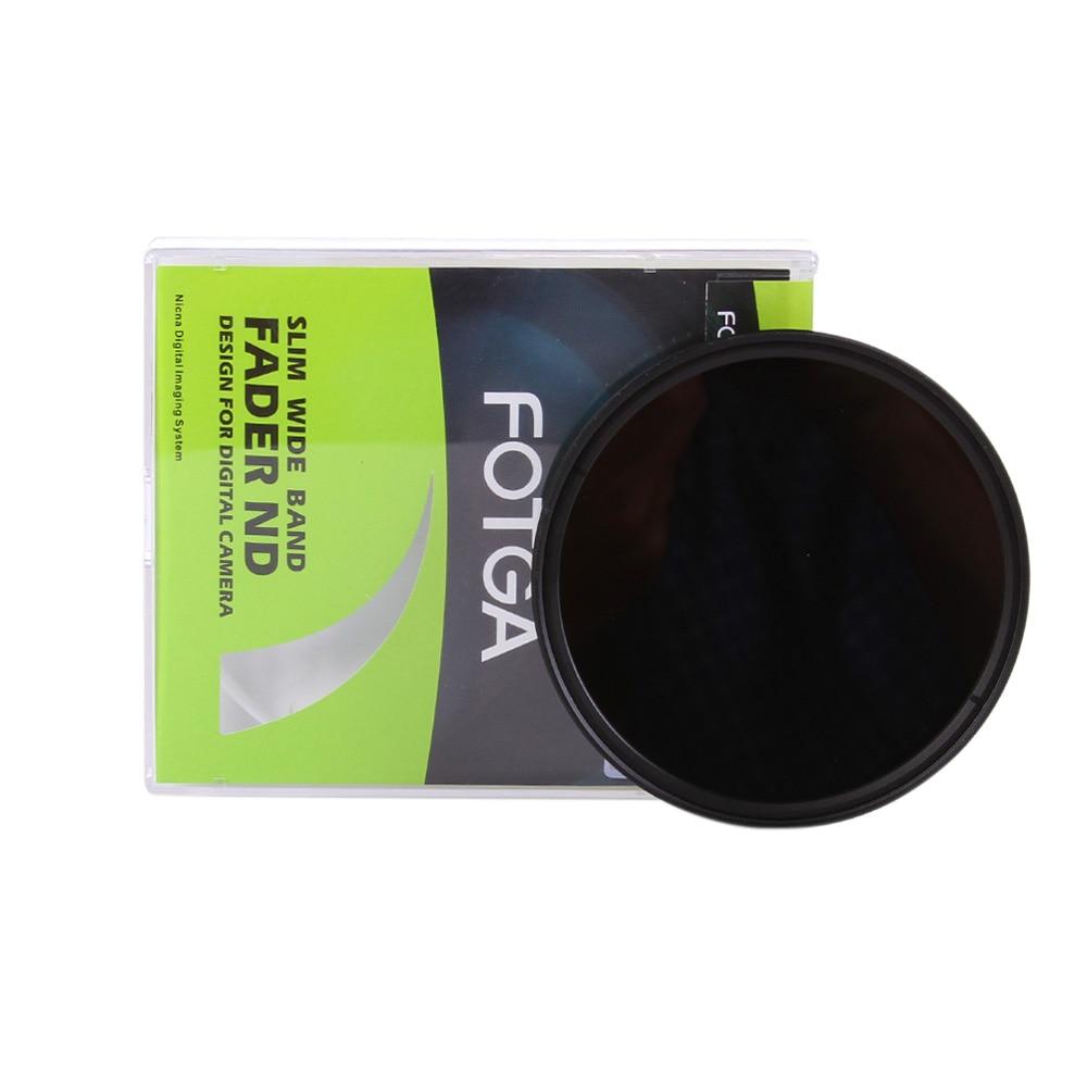 Andoer Fotga 49mm Slim Fader Variable ND Filter Adjustable Neutral Density ND2 to ND400