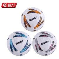 Authentic Qiangli 66U football 5# soccer ball futbol football ball voetbal bola de futebol