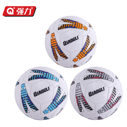 Authentic Qiangli 66U football 5# soccer ball futbol football ball voetbal bola de futebol