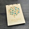 Aniversário dos namorados presente de casamento livro de visitas livro álbum de amor de árvore
