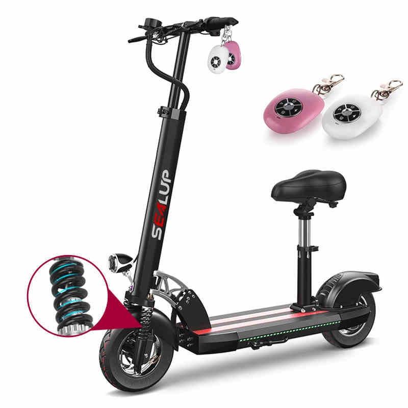 Электрический scooter10inch Электрический велосипед литиевая батарея взрослых складной поколения вождения twowheeled скутер мини Ebike длинные позвони...
