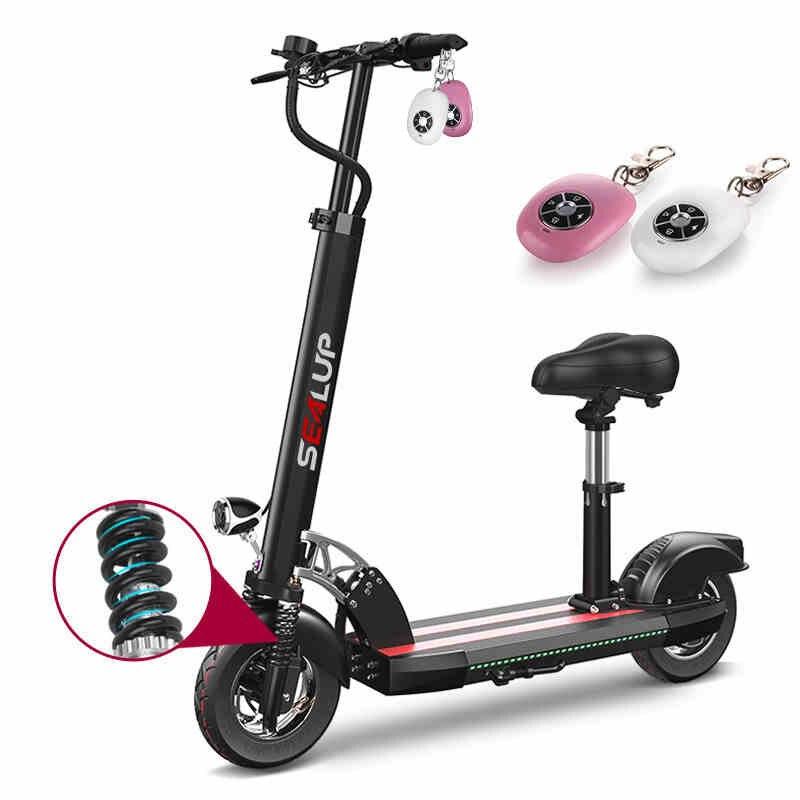 Scooter10inch elétrica bateria de Lítio bicicleta elétrica dobrável adulto geração condução twowheeled scooter ebike mini longo tocou