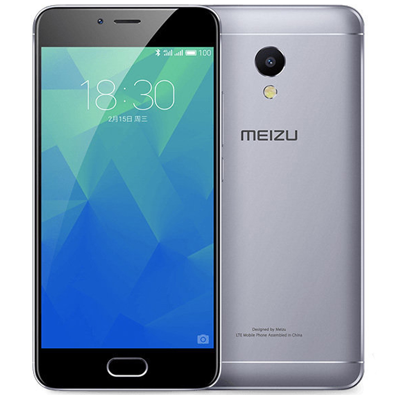 Original MEIZU M5S 4G LTE Cell Phone 3GB 1632GB MTK6753 Octa Core 5.2inch HD IPS Fingerprint Fast Charging Mobile Phone