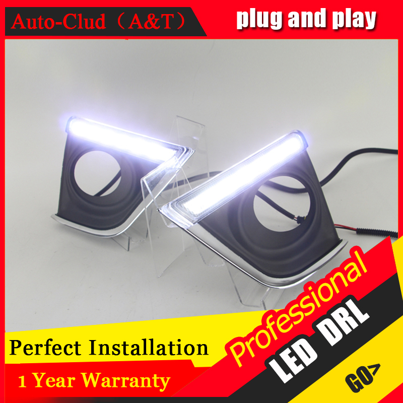Auto Clud car styling For Toyota coroll LED DRL For coroll led fog lamps daytime running light High brightness guide LED DRL Str special car trunk mats for toyota all models corolla camry rav4 auris prius yalis avensis 2014 accessories car styling auto