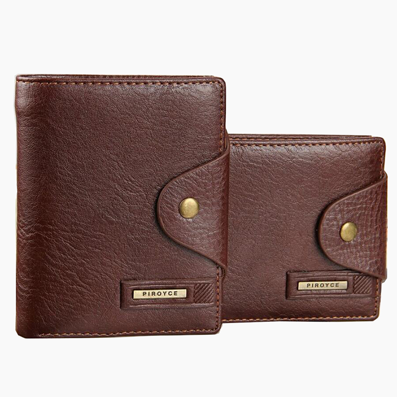 top quality cow leather men wallets luxury dollar price short style male purse carteira masculina free shipping baellerry small mens wallets vintage dull polish short dollar price male cards purse mini leather men wallet carteira masculina