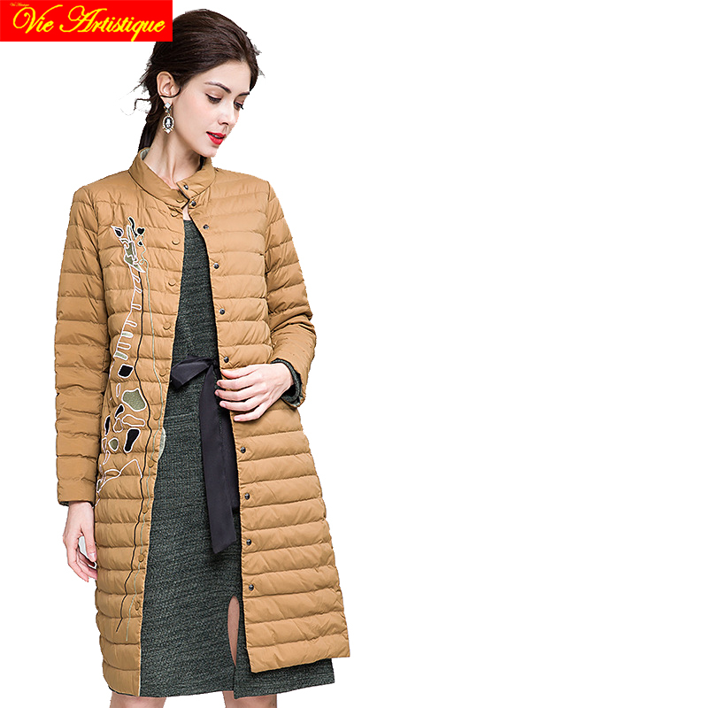 winter jacket woman parka fem me womens long coats and jackets big size black coffee gre ...