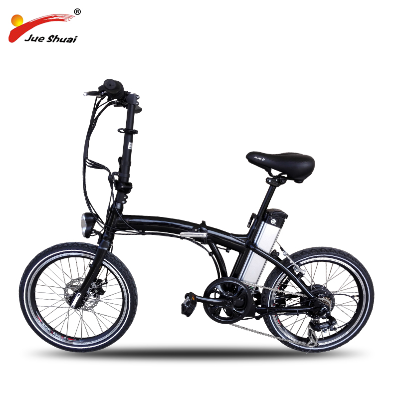 Free shipping 20″ foldable electric bike aluminum alloy 36V 10ah lithium battery 250W brushless motor MTB electric bicycle
