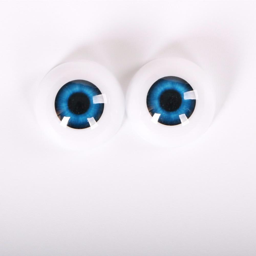 24 MM 1 pares de ojos de seguridad Arcylic Doll Eyeball ajuste para - Muñecas y accesorios - foto 3