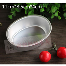 Aluminum Alloy Round/oval 4 Inch Cake Mold Cheese Tool Baking Mould Pan Bakeware