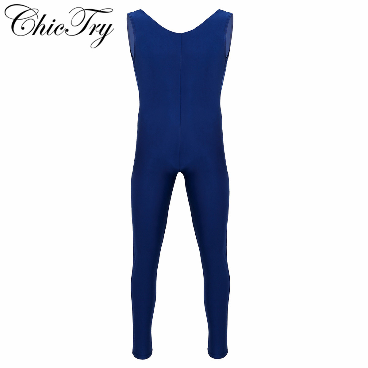 Male Mens Adults Dance Unitard Men Lycra Ballet Tight Jumpsuit Dance Costumes Thongs Bodysuit for Ballet Stage Performance