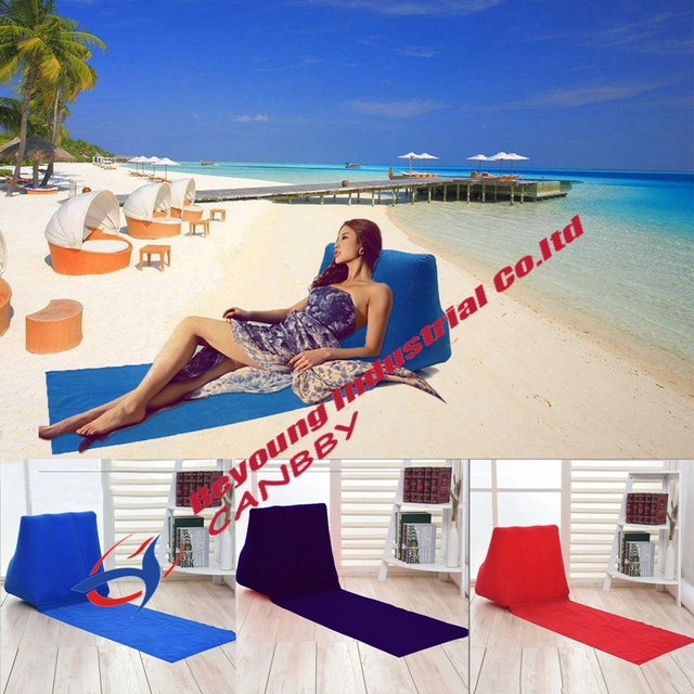 Waterproof Type Travel Pillow Inflatable Beach Outdoor Festival