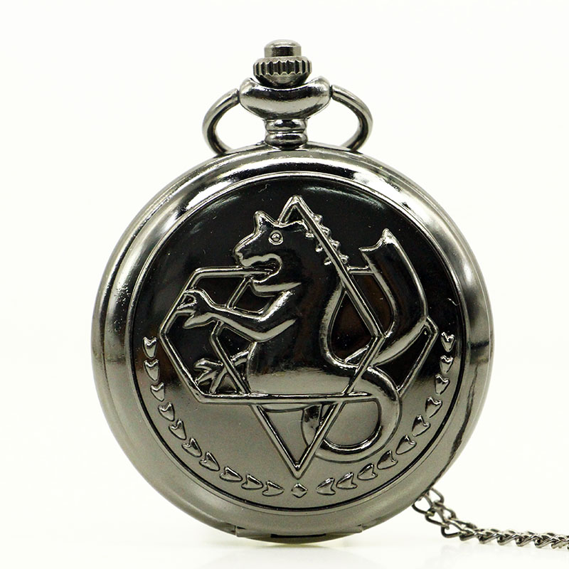 antique new bronze retro fullmetal alchemist pocket
